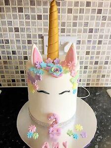 edible unicorn cake topper Decoration