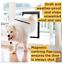 Hakuna-Pets-Large-Deluxe-Black-Aluminium-Pet-Door miniature 2
