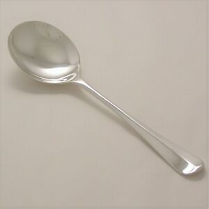 Stainless Steel Rattail Tea Spoon Made In Sheffield England