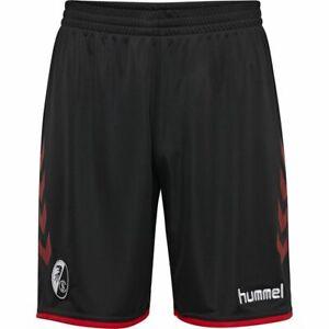 Hummel-Fussball-Herren-SC-Freiburg-SCF-Home-Shorts-2019-2020-Heimhose-schwarz