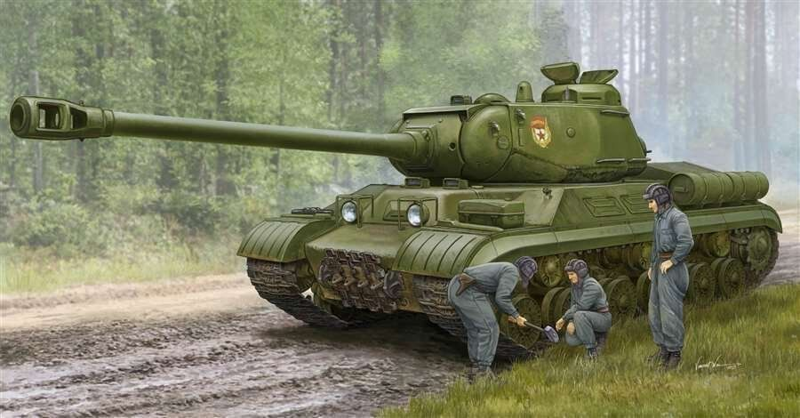 Trumpeter 05589 1 35 Soviet JS-2M Heavy Tank Early