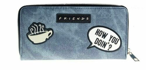 Friends TV Series LOGO Zip Around Women/'s Hand Purse Clutch Wallet