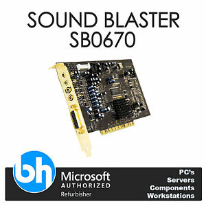 Creative sound card drivers sb0670 driver