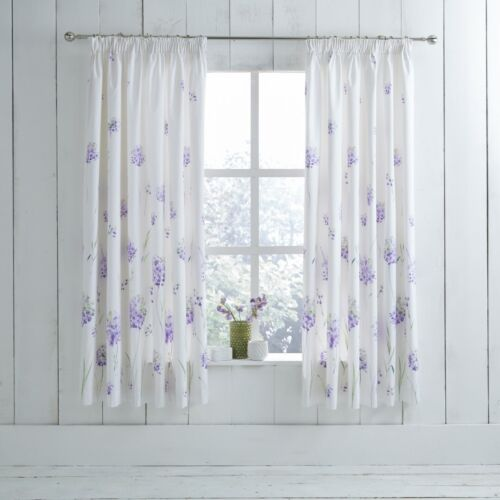Charlotte Thomas Kendall Purple Floral Design Duvet Set and//or Curtains