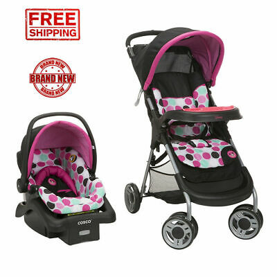 Travel System for Girls Lightweight Infant Car Seat Set ...