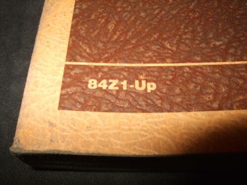 CAT CATERPILLAR 3306 MARINE ENGINE PARTS BOOK MANUAL S//N 84Z1-UP