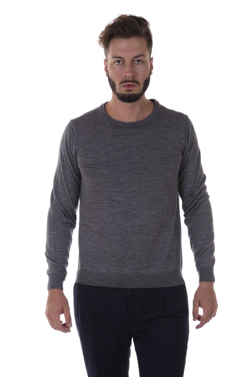 Maglia Daniele Alessandrini Sweater A/I Lana Lana A/I Uomo Grigio FM91503607 11 55ff5d