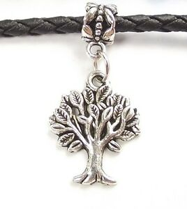 Tree-of-Life-Dangle-Large-Hole-Slider-Add-a-Bead-fit-European-Charm-Bracelet
