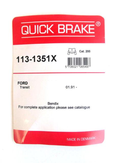 Quick Brake 113-1351X Kit pour Plaquettes de Frein Bendix