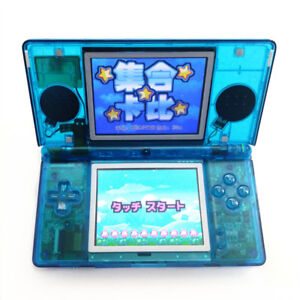 Clear-Blue-Refurbished-Nintendo-DS-Lite-Game-Console-NDSL-Video-Game-System