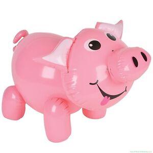 20-Inflatable-Pig-Blow-Up-Cute-Piggie-Piggy-Swine-Party-Decoration-Party-Toy