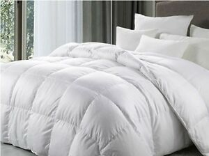 New King Bed Size 7.5 Tog 100% White Duck Feather Duvet / Quilt | eBay : duck feather quilt king size - Adamdwight.com