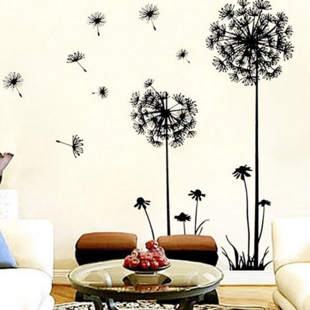 Creative Dandelion Wall Art Decal Sticker Removable Mural PVC Home Decor Nice
