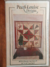 """Pearl Louise """"Whacky Log Cabin"""" Quilt Pattern"""
