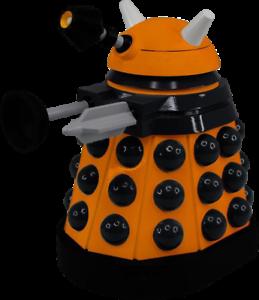 "Doctor Who Scientist Dalek Titans 6.5/"" Vinyl Figure"
