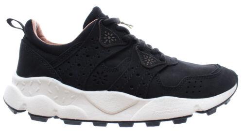 FLOWER MOUNTAIN Men/'s Shoes Sneakers Corax 2 Man Nubuk Black Nero Agion Cork New