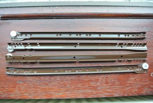 1 x ensemble complet de italien véritable FGV type 082 400mm glissières de tiroir marron