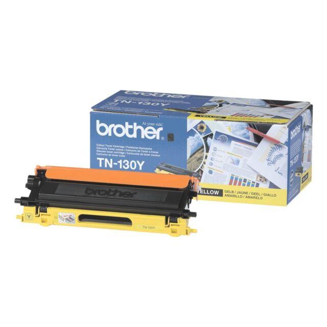 Original Brother TN-130Y Toner Yellow Tape DCP 9040CN 9045CD HL-4040CN 4050C