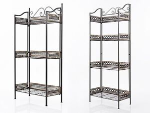 gartenregal pflanzentreppe blumentreppe blumenregal metall. Black Bedroom Furniture Sets. Home Design Ideas
