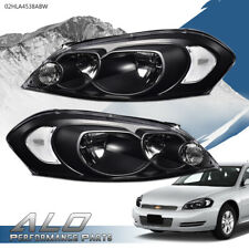 Clear Corner Black Headlights Fit For 06 13 Chevy Impala06 07 Monte Carlo Fits 2006 Impala