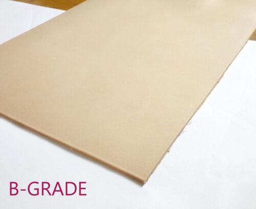 - Full Grain Veg Tan Tooling Hide 2mm, 3mm, 4mm Veg Tanned Leather B-Grade