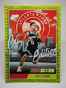 Panini Hoops 2020-21 N19 card NBA City Edition #1 Trae Young Atlanta Hawks