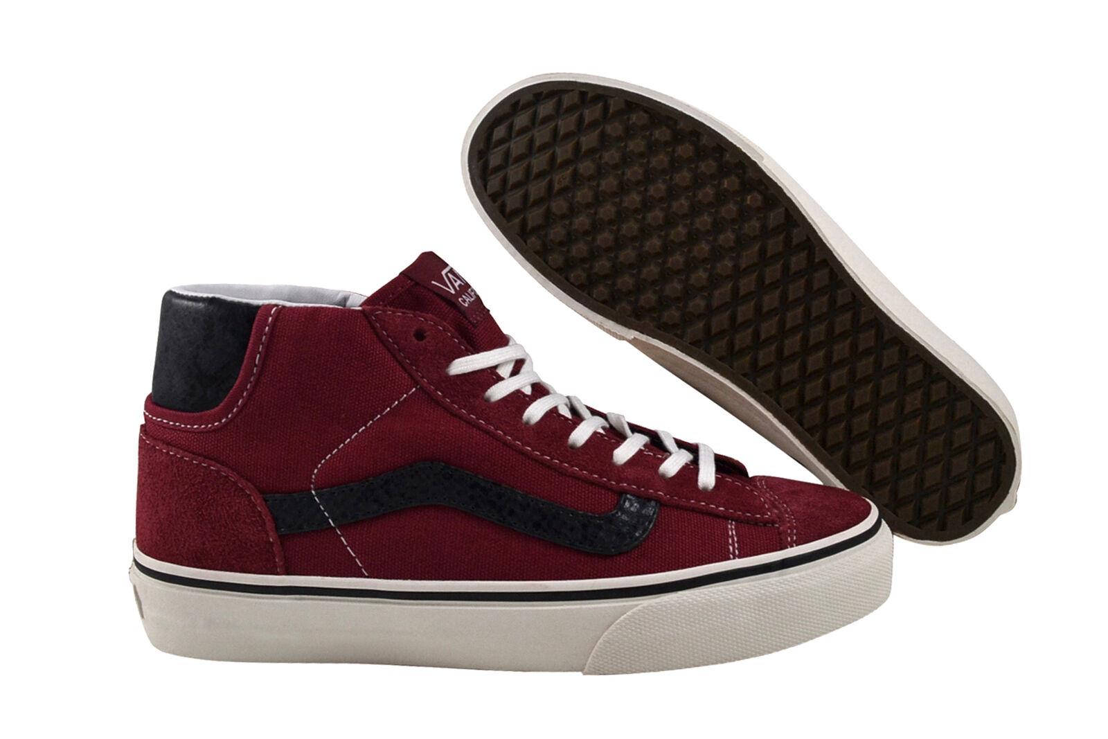 Vans Mid Skool '77 CA (suede) rio rot Turnschuhe Schuhe LYMC5D rot