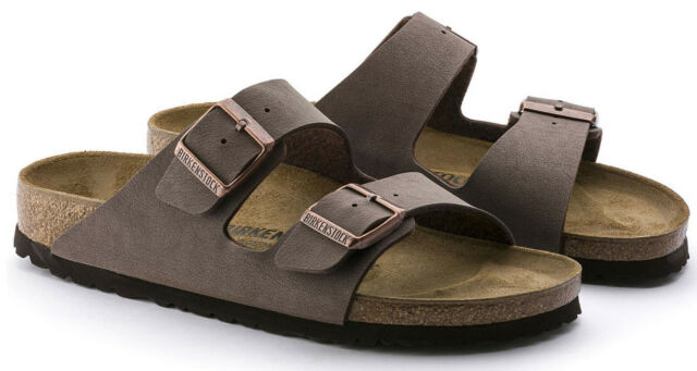 *NEW* ARIZONA 39 M SIZE 8 8.5 US WOMEN {MOCHA} BIRKO FLOR SANDALS BIRKENSTOCK