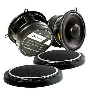CT Sounds Meso 5.25 Inch 2-Way Silk Dome Car Audio Coaxial Coax Speakers (Pair)
