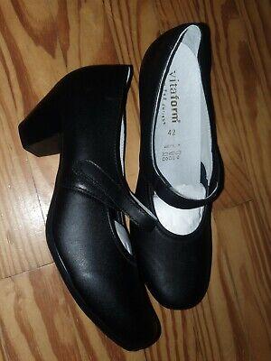 Vitaform Damen Schuhe Pumps Größe 42 Weite H Klettverschluß