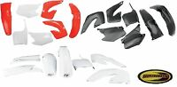 Ufo Plastic Kit Fits Honda Cr125 Cr250 2000 2001 Fender Plate Guard