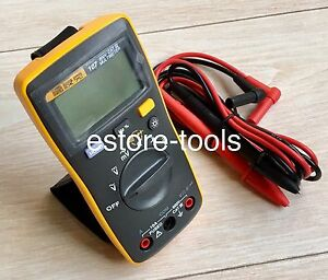 Fluke-107-Palma-tamano-multimetro-digital-portatil-manual-nuevo-F107
