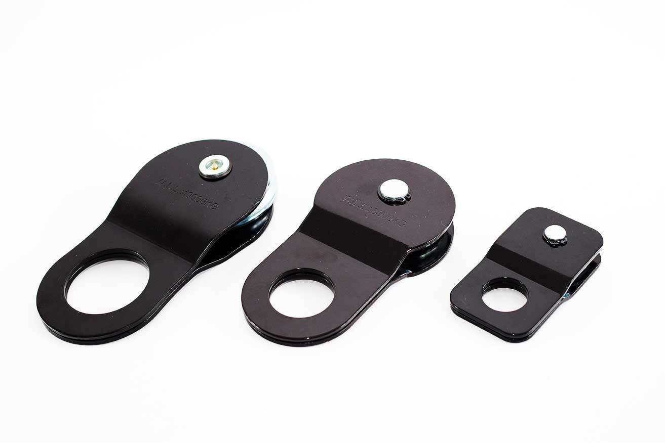 Electric Winch Snatch Block Pulley 4T Equipments For Offroad Vehicle Trailers