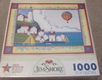 Coastal Village - 1000pc Jigsaw Puzzle by Great American Puzzle Factory - 00010563088155 Toys