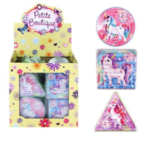 UNICORN MAZE PUZZLE Kids Girls Birthday Party Bag Filler Favors Jigsaw Toy Gift