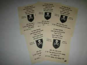 Vietnam-War-5-VC-Propaganda-Leaflets-Against-Any-USSF-amp-ARVN-SF-MIKE-FORCE-Team
