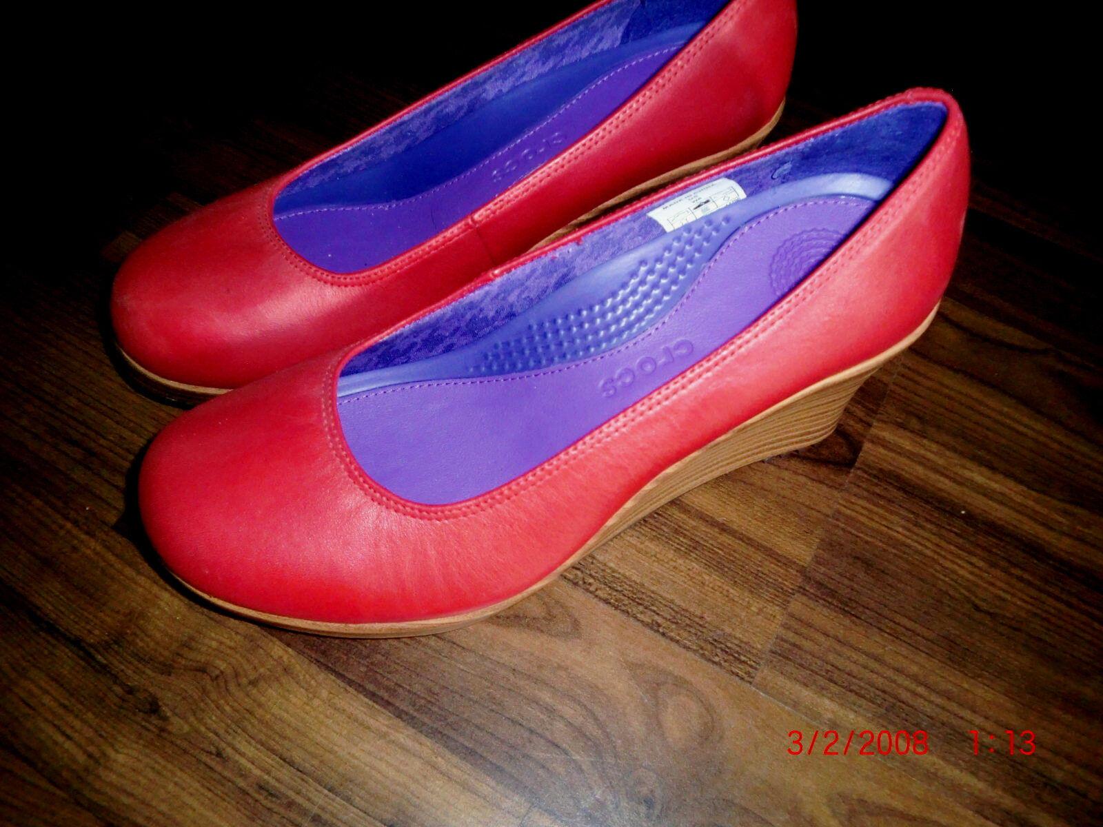 Crocs A-leigh Closed Toe Wedge Gr.39 NP: 144,-