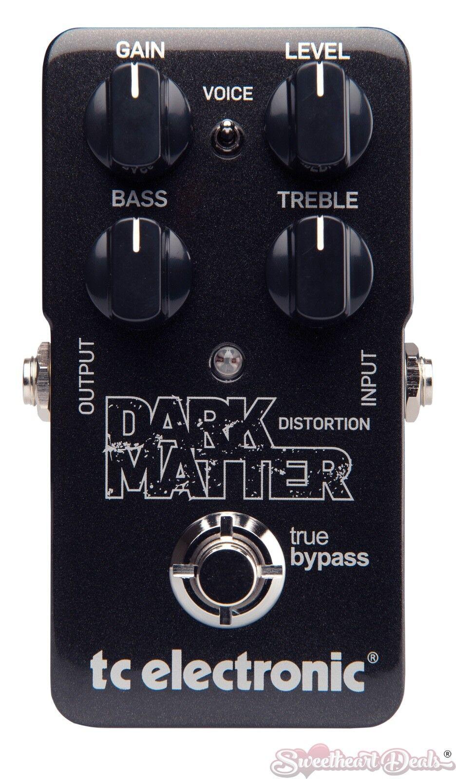 TC Electronic Dark Matter Distorti - Guitar Distortion Effect Pedal
