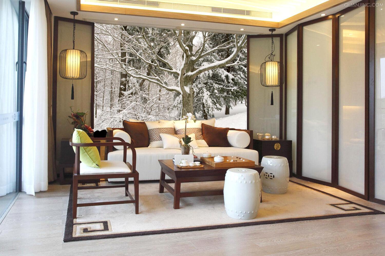 3D White Snow Trunk 02 Wall Paper Wall Print Decal Wall AJ WALLPAPER CA