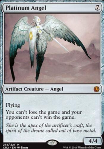 Platinum Angel MTG MAGIC CN2 Eng