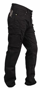 GBG-Motorbike-Motorcycle-Armour-Cargo-Trouser-Pants-Jeans-With-Protective-Lining