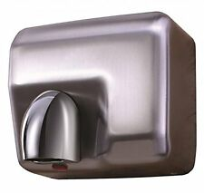 PRO ELEC  HEAVY DUTY AUTOMATIC HAND DRYER BRUSHED STEEL - IN STOCK!!!