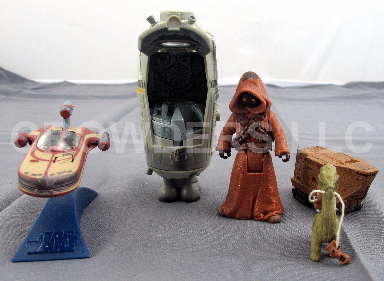 Star War Micro Collection Escape Pod Sandcrawler Landspeeder Jawa & & & Ronto Galoob 7c65c4