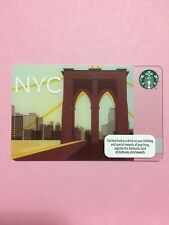 2012 Starbucks USA New York card