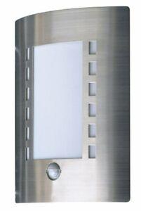 Exterieur-mur-porte-entree-lumiere-60W-detecteur-mouvement-pir-en-acier-brosse-contem