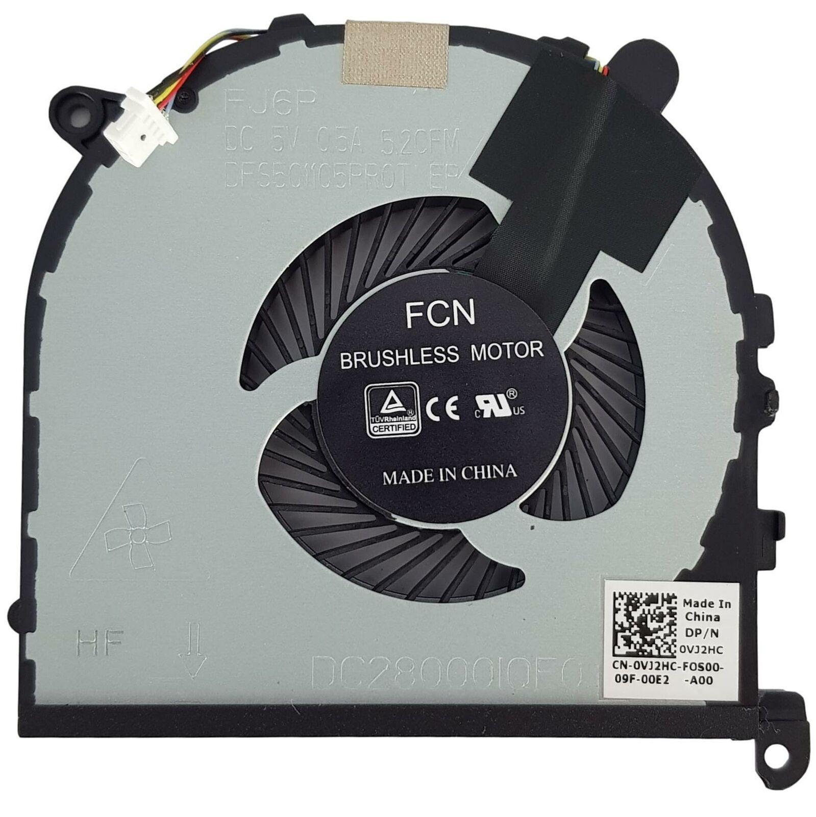 New Dell XPS 15 9560 Precision 5520 CPU Thermal Cooling Fan VJ2HC 0VJ2HC