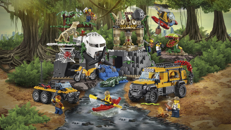 Lego City Jungle Explorer la jungle-Station de recherche 60161 n7//17