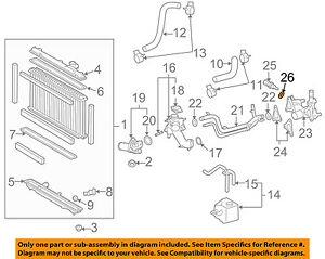 Ford F L V Engine Diagram Coolant Temp Sencer on