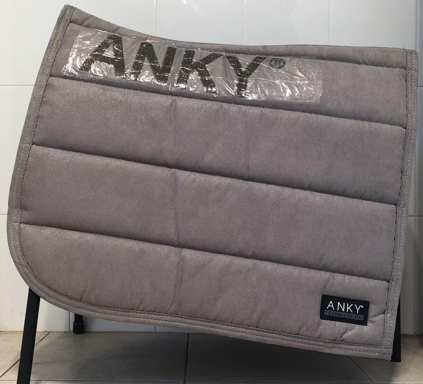 ANKY Light Gold Glitter Saddle Pad Brand New AU FREE POST