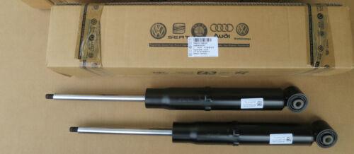2x Originali VW TOUAREG stossdämpfer NUOVO POSTERIORE 7p6513029ap